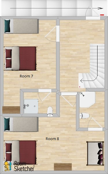 Click for Rooms 7 and 8 Plan
